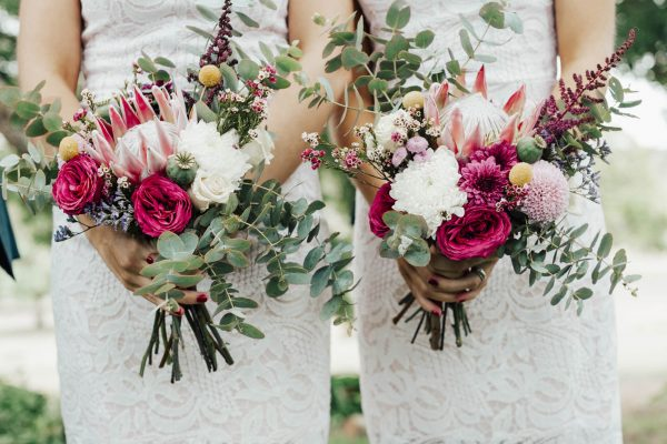 POP Floristry Melbourne Bridesmaids Custom Bouquets